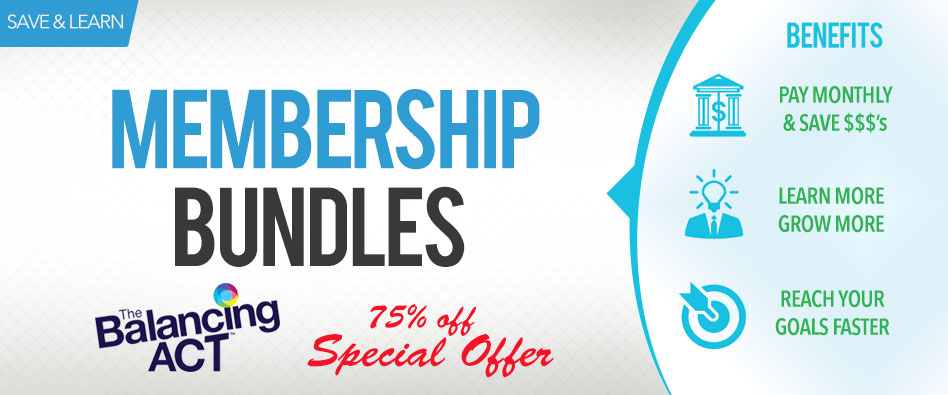 Membership Bundles - The Balancing Act Special Offer